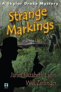 Strange Markings cover, Janet Elizabeth Lynn, Will Zeilinger, Hawaii-Noir Mystery