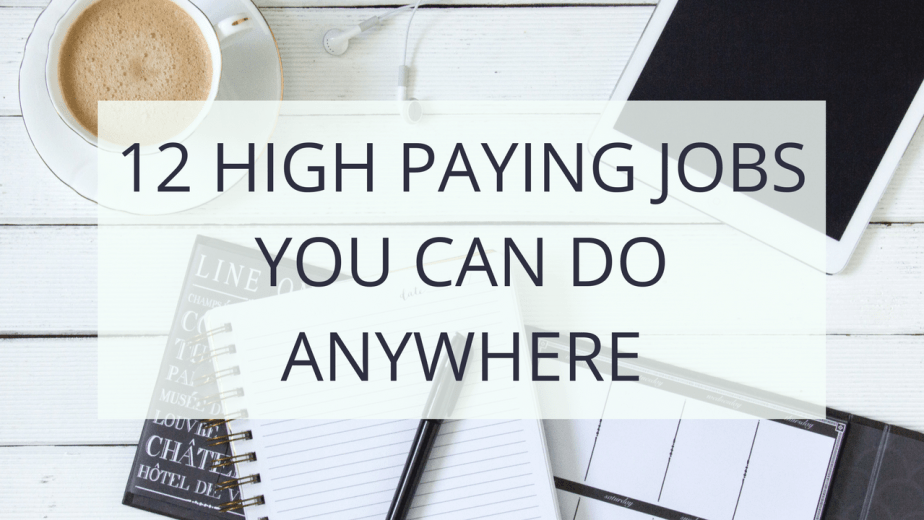 12 Highest Paying Work-from-Home Jobs | Gillian Perkins Online Business Blog