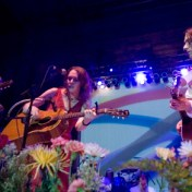 """David Rawlings, Gillian Welch, and Conor Oberst perform """"Look at Miss Ohio"""" at the Greek, Berkley CA. 5/4/07"""