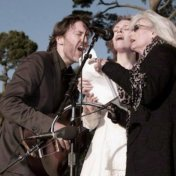 "David Rawlings, Gillian Welch & Emmylou Harris. ""Nobody But The Baby"" Golden Gate Park 2009."