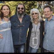 Gillian Welch, Steve Earle, Emmylou Harris, John Paul Jones Hardly Strictly Bluegrass Golden Gate Park October 4, 2014