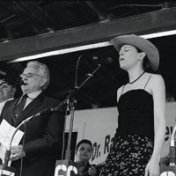 "Ralph Stanley & Gillian Welch. ""Gold Watch & Chain"" at Ralph Stanley's Hills of Home Festival."
