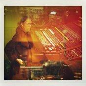 Gillian Welch at Sunset Sound Studio 2013.