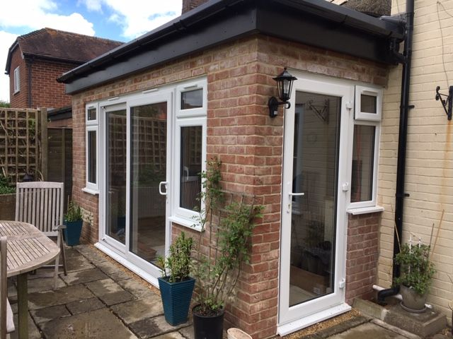 white upvc a rated rated patio sliding