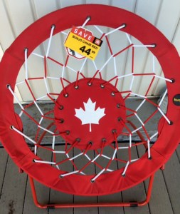Canada Day Chair