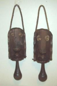 wooden gothic medieval lanterns