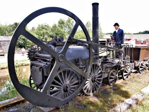 image of a large flywheel