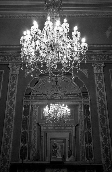 Chandelier, Lady Lever Art Gallery