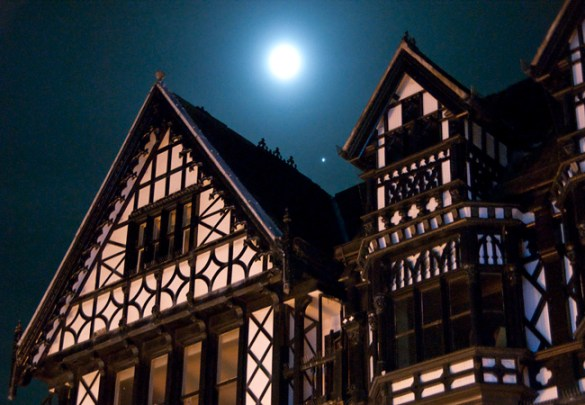 Moon over Chester