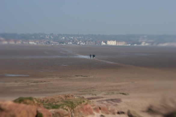 View of West Kirby from Little Eye, Hilbre Islands