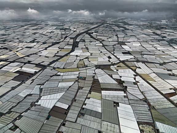 Almira Peninsula by Edward Burtynsky