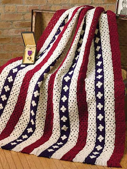 10 Free Crochet Loom Knit Americana Patterns Gilly Gnits