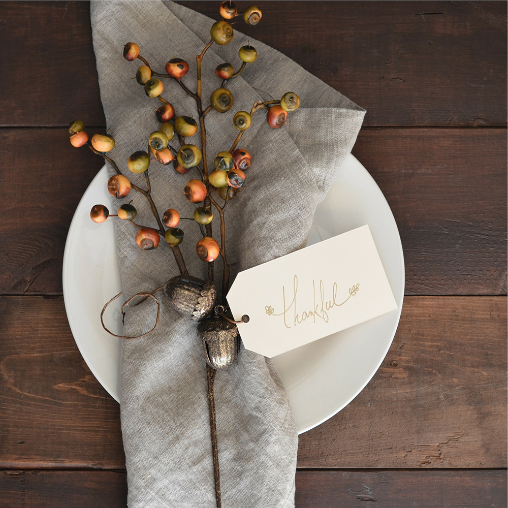 Thanksgiving Tips - Table Setting | The Gilmore Collection www.thegilmorecollection.com