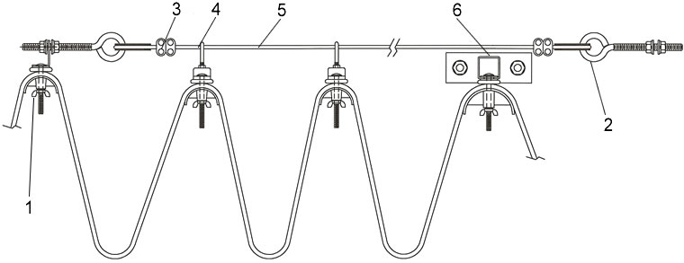 Slide Wire Festoon Systems, Wire Supported Festoon Systems