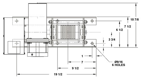 Electric Cable Loop Drive, Powered Winches, Power Winch