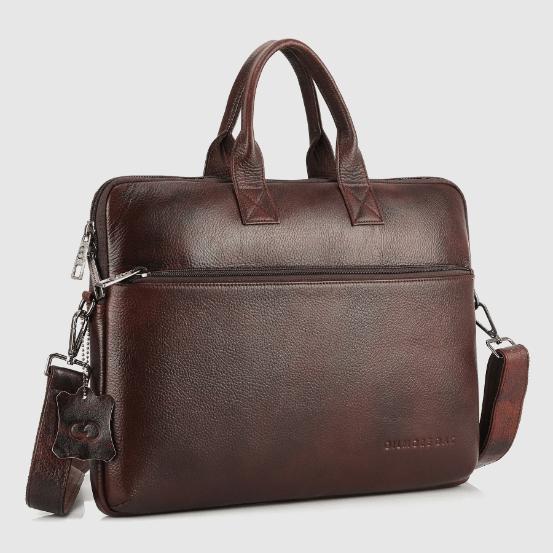 Gilmore Oak's Extravagance Laptop Bag in Cinnamon Brown 100% Genuine NDM Leather-4 – Copy – Copy (2)