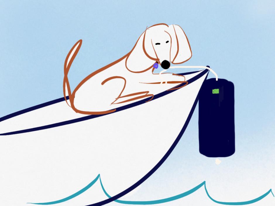 gilmore loves his sailbay fender covers
