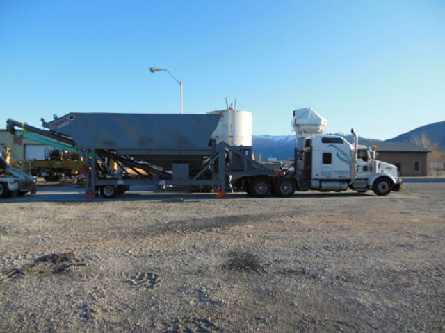 Equipment Rental Portable Silo