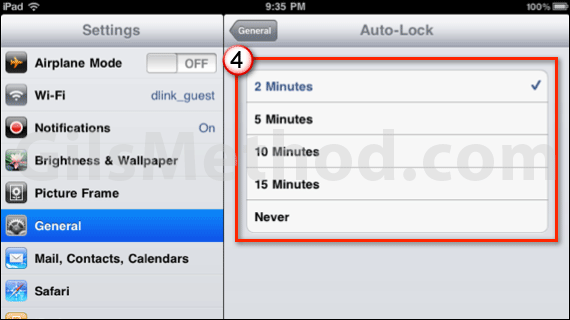 ipad auto lock a 7 Tips to Help You Maximize Your iPads Battery Life