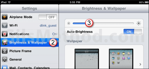 ipad battery tip screen brightness 7 Tips to Help You Maximize Your iPads Battery Life