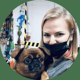 Рогозина Елизавета Игоревна. Ветеринарный врач, невролог, хирург. Управляющая клиникой.