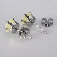 Cubic Zircon (CZ) Stud Earring Stainless Steel - Gets.com