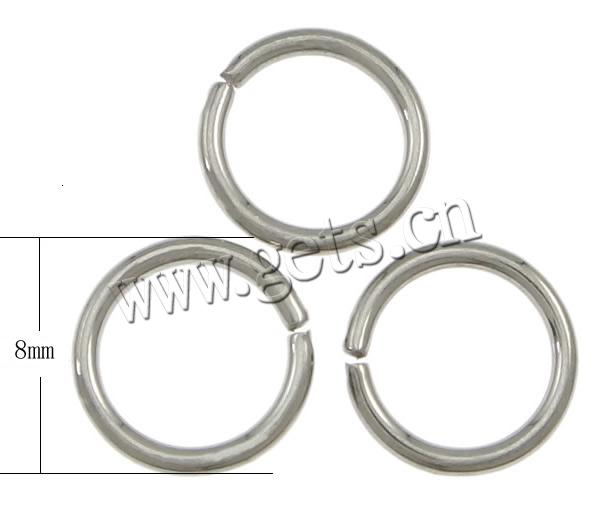 Machine Cut Stainless Steel Closed Jump Ring 316 Stainless