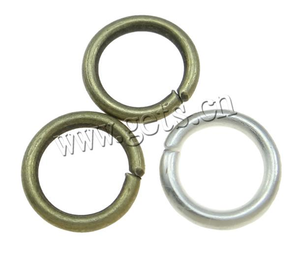 Machine Cut Iron Closed Jump Ring Donut plated  Getscom