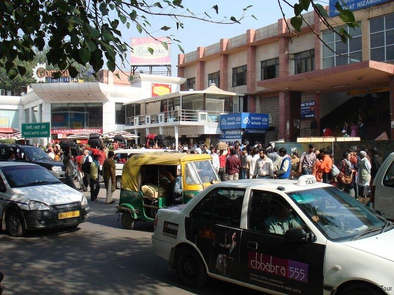 Bahnhof in Delhi