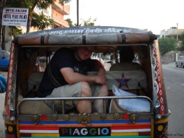 Autorikschafahrt in Jaipur