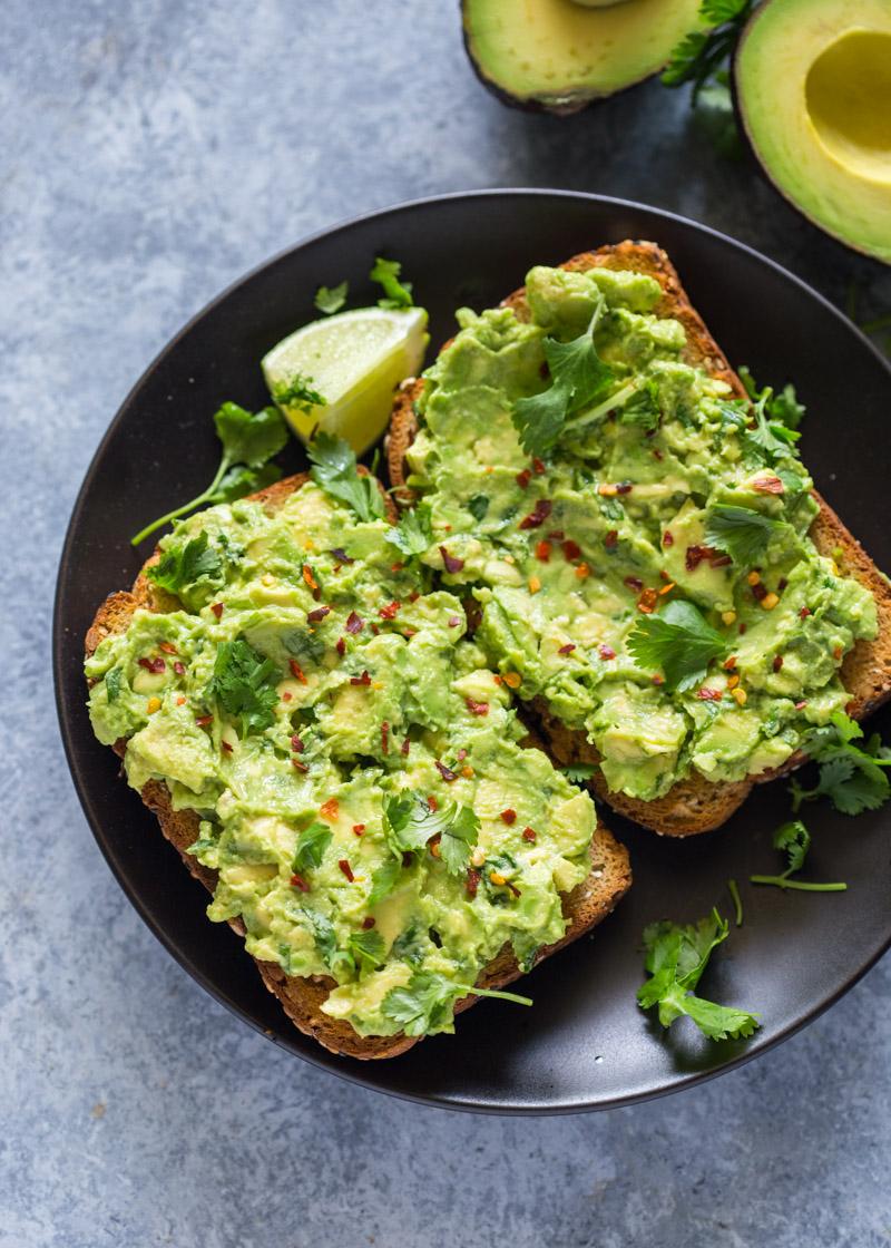 healthy 5 minute avocado