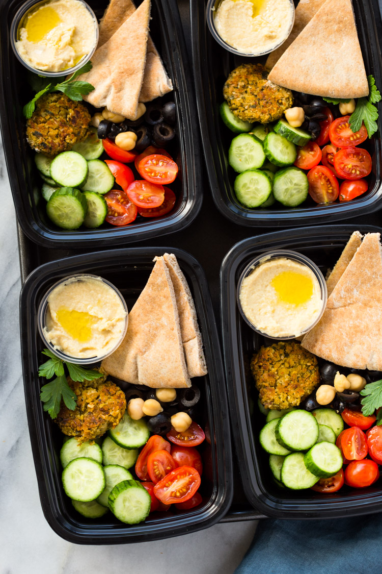 Middle-Eastern Meal-Prep Bento Boxes