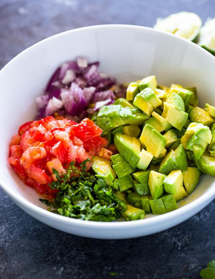 The Best Avocado & Tomato Salsa