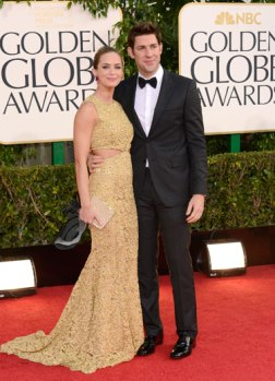 Oh, it's Emily Blunt in classic Michael Kors.