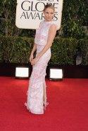 Sienna Miller in floral patterned gown by Erdem. Sweet and elegant.