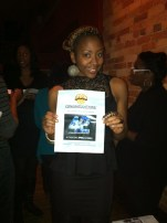 Choreographer Jasmyn wins a prize to see a screening of the Jackie Robinson film.