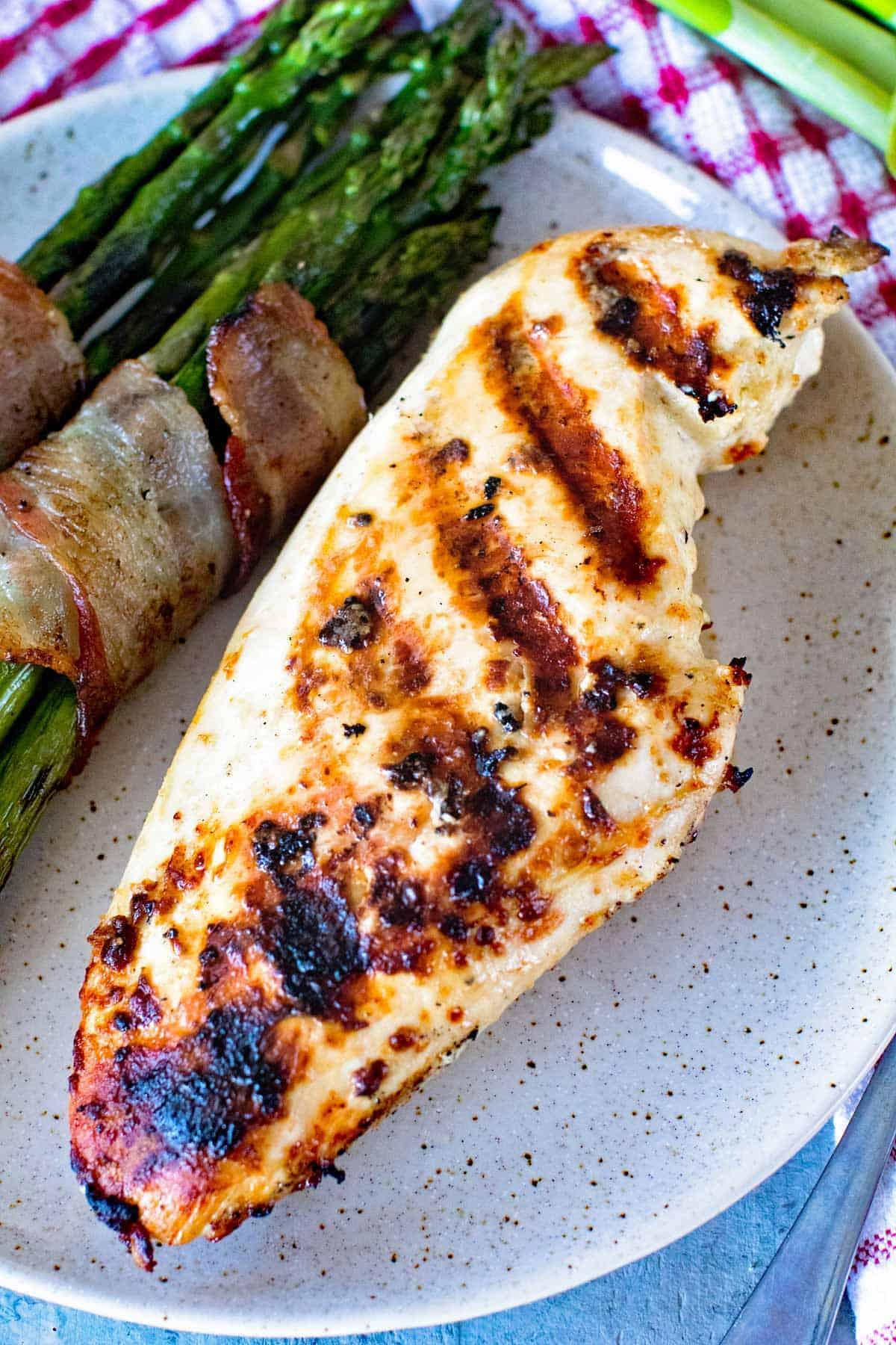 Caesar Grilled Chicken Breasts