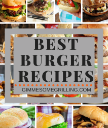 Pinterest Photo Collage of Burgers