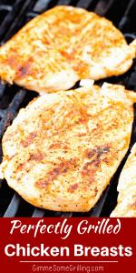Grilled Chicken Breast Pinterest Collage