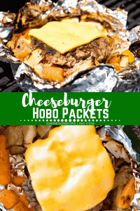 Cheeseburger Hobo Packets Pinterest Oct