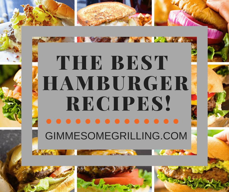 The Best Hamburger Recipes Collage Square
