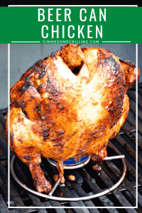 Grilled Beer Can Chicken Pinterest 5