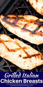 Grilled Italian Chicken Breasts Pinterest 4
