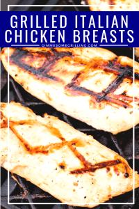 Grilled Italian Chicken Breasts Pinterest 5