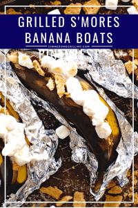 Grilled Smores banana boats pinterest 2