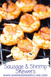 Sausage and Shrimp Kabobs Pinterest 3