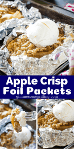 Campfire Apple Crisp Pinterest 3