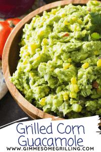 Grilled Corn Guacamole Pinterest Image 2