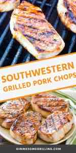 Southwestern Grilled Pork Chops