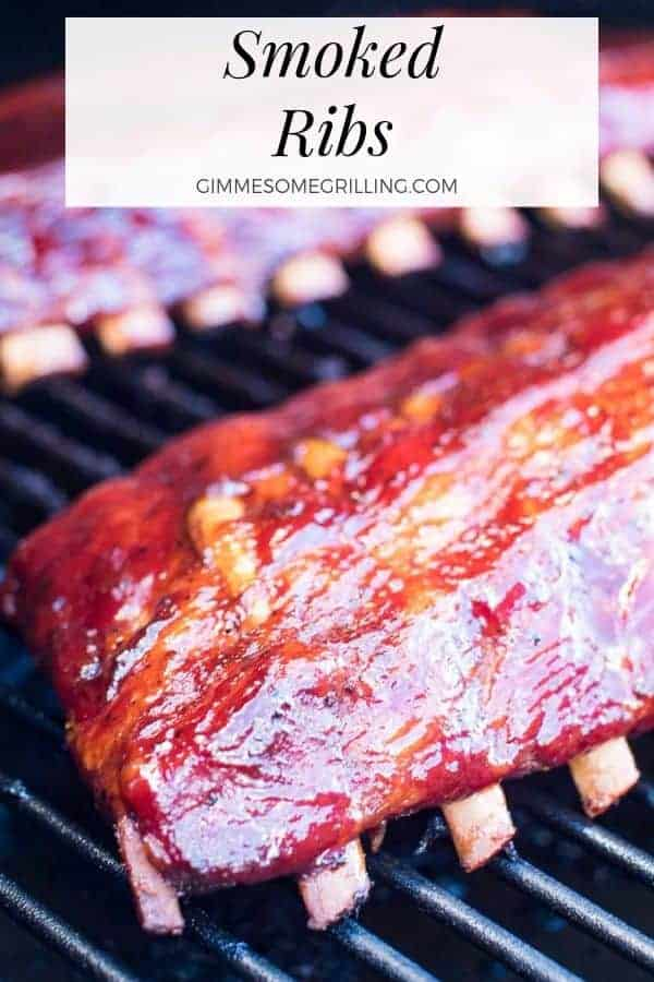 These smoked ribs are so delicious using the 3 2 1 ribs method. They literally fall off the bone after being smoked on an electric pellet grill. It's an easy for smoking ribs which is perfect for beginners. If you just got a Traeger or are new to smoking meat start with these delicious ribs first! #smokedribs #ribs